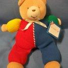 "Eden Soft Plush Bright Bear for Baby 10"""