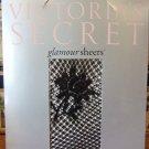 Victoria's Secret Floreal Crochet Pantyhose - Black Md