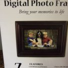 Bpidion 7 Inch Digital Picture / Photo Frame with 128 MB Internal Memory