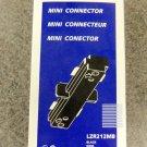 Halo Lazer Track Lighting Mini Connector - Black - Set of 4