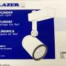 Halo Lazer Track Lighting Cylinder Track Light - White - Set of 13