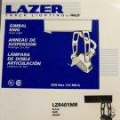 Halo Lazer Track Lighting Gimbal Ring Track Light - Black - Set of 8
