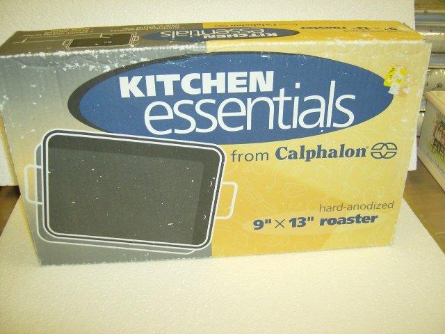 Calphalon Kitchen Essentials Hard Anodized Roaster