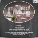 Silver Noel 18 piece Entertainment Set
