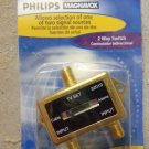 Philips :Magnavox 2 Way Video Switch