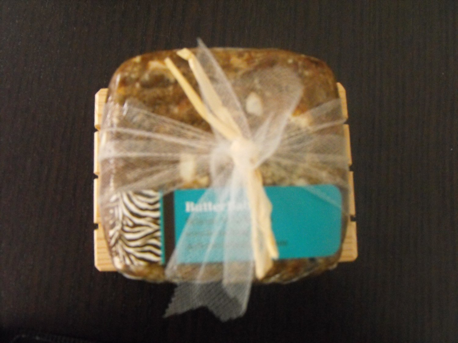 1 ButterChunk Soap with Cedar Soap Dish for $10  *SPECIAL*