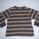 Greendog Toddler Boy's Brown Striped Shirt Size 4T