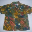 ARIZONA TODDLER BOYS HAWIAAN SHIRT SIZE 24 M EUC