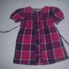 SWEET IVY INFANT BABY GIRLS PINK PLAID DRESS 24 M