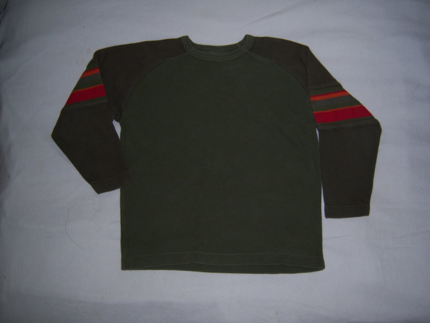 GAP LITTLE BOY'S GREEN LONG SLEEVE SWEATER SIZE 5/6