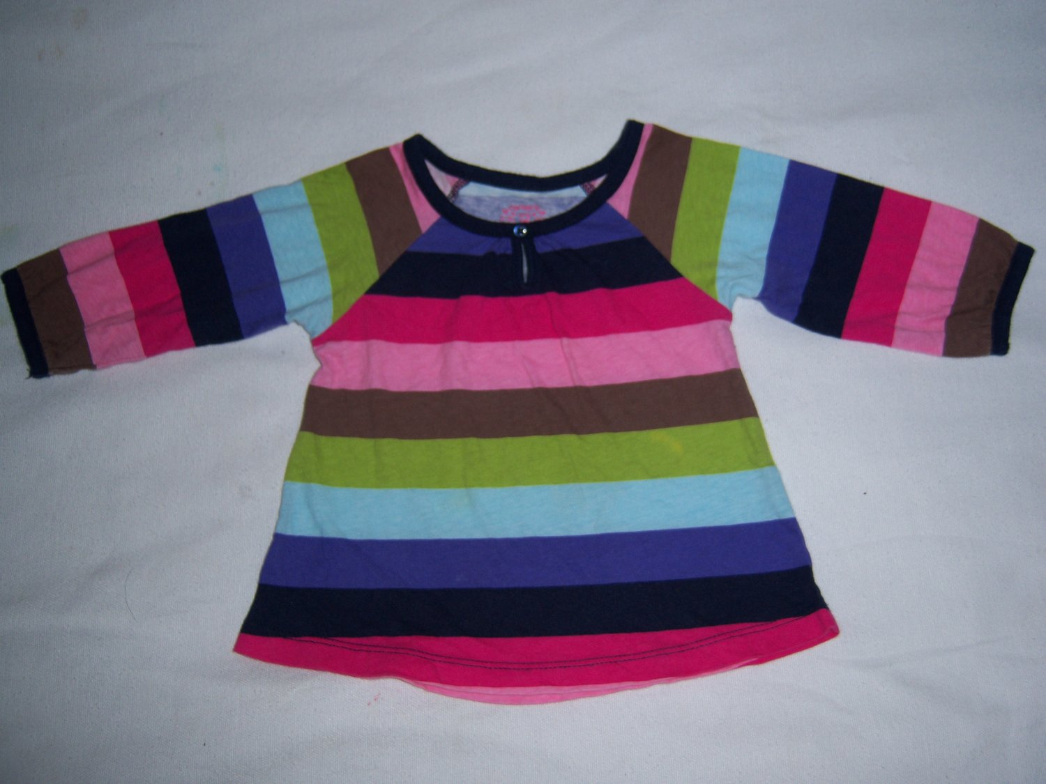 CARTER'S INFANT BABY GIRLS LONG SLEEVE TOP 12 MONTHS