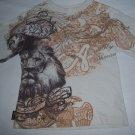 Akademiks Little Boys Brown & White T-shirt Size 7