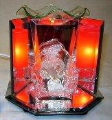 Glass dragon electric oil burner