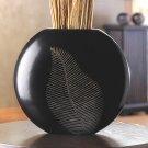 artisan leaf vase