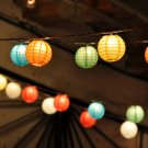 String of Paper Lanterns