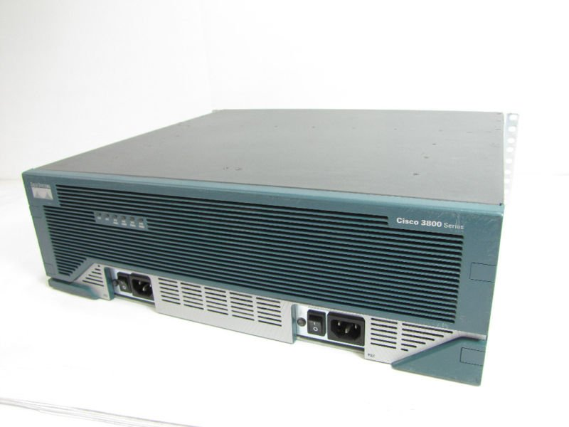 Cisco 3800 Series Router Model 3845 with CISCO3845-MB *Factory Refurbished*