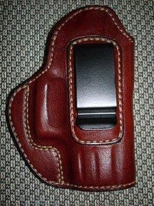 """Gazelle In-the-Pants ITP IWB Leather Holster for SPRINGFIELD XD-40 SUBCOMPACT 3"""""""