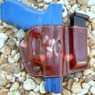 Gazelle Belt Slide Holster with Attached Mag Magazine Pouch for GLOCK 37 38 39