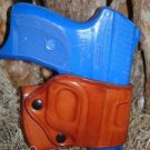 RUGER LC9 LEATHER YAQUI RIGHT HAND BELT SLIDE CROSSDRAW HOLSTER by TAGUA