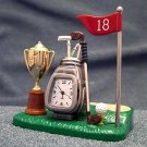 Mini Clock, Golf Set Miniature Clock