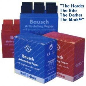 Dental Bausch Articulating Paper Red/Blue - Free Shipping