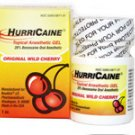 Four Dental Hurricaine Topical Oral Anesthetic Gel FREE SHIP