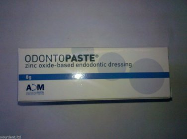 Dental Odontopaste Zinc Oxide-Based Endodontic Dressing 8gr by ADM Free Shipping