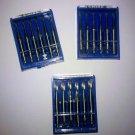Dental Three Packs of Finishing Steel Burs by EMIL LANGE - Free Shipping