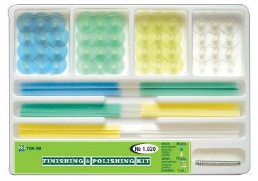 Dental Finishing&Polishing Kit 48 Stem Discs+75 strips+Mandrel  *FREE SHIPPING*