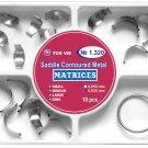 Dental Saddle Contoured Metal Matrices 18pcs - Item No.1.320 Free Shipping