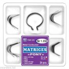 Dental Metal Contourde Matrices PONY  24 pcs + Slot Clamp Item 1350