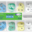 Dental Polishing Discs Universal Kit 80pcs+Mandrel