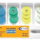 Dental Polishing Discs 16mm Gross Reduction+Contouring+Finishing+Polishing+Mand