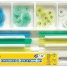 Dental Finishing&Polishing Kit: Polishing Discs, Metal Bush, Diameter 14mm 1.021