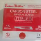 Dental Surgical Scalpel Blade No.15/15C/12B by Swann-Morton- Free Ship