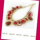 Bloodstone Gorgeous Resplendent 46cm Collar Necklace (zz.5)