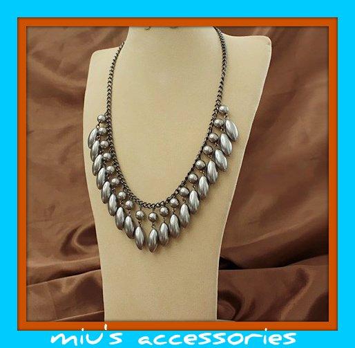 Miu's Antique Style Wedding Collar Necklace (mis.5)