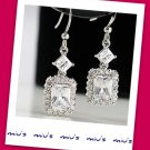 Miu's Earrings Fashionable Gorgeous Rhinestone Drop Earrings (zz.21)