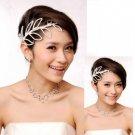 Miu's Sparkling Rhinestone Bride / Party Necklace + Bracelet + Earrings Jewelry Set (mis.w5)