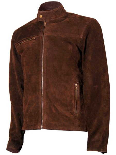 Tom Cruise Suede Mission Impossible Leather Jacket