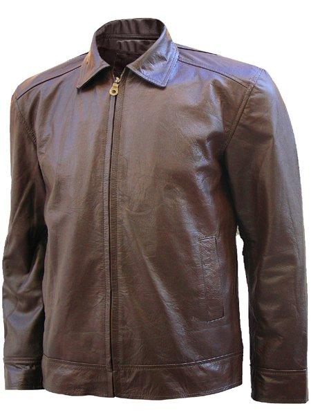 Michael Fassbender Brown X-men Leather Jacket
