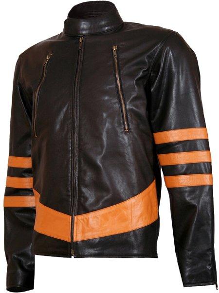 Origins Biker Style Brown X-MEN Wolverine Jacket