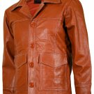 Tan Original Fight Club Leather Jacket