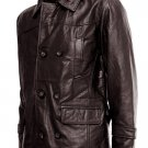Brown DR Who Leather Coat