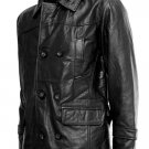 Black DR WHO Leather Coat