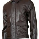 Brown Indiana Jones Leather Jacket
