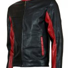 Batman Movie Biker Black Christian Bale Leather Jacket