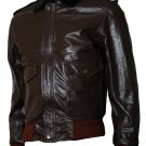 The Thing Brown R. J. MacReady Leather Jacket