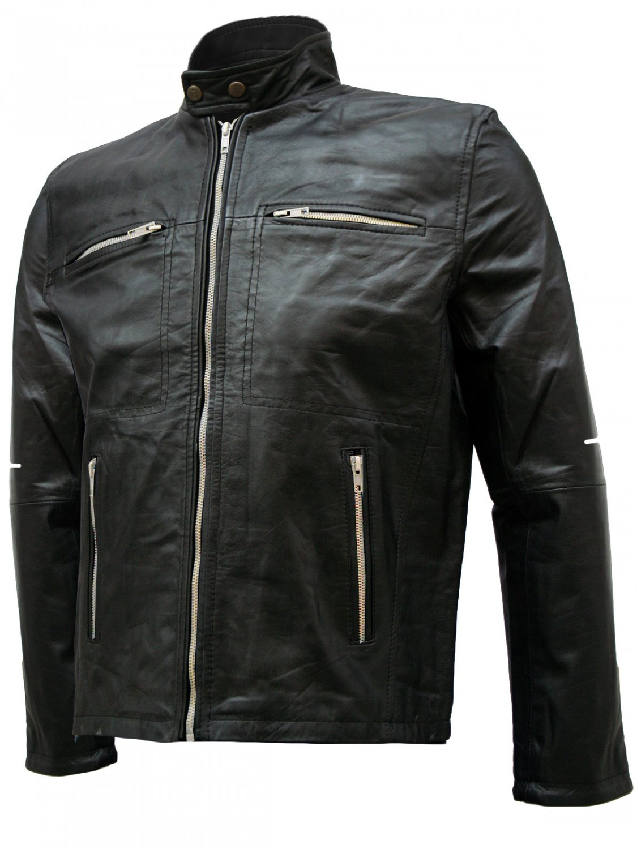 Black Flash Point Donnie Yen Leather Jacket