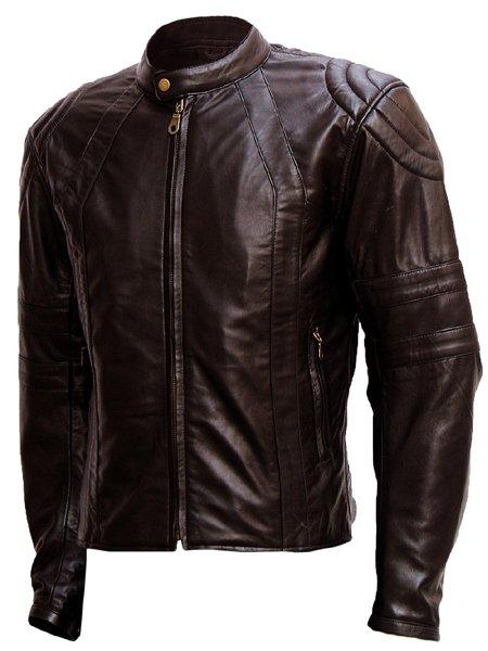 Men's Super Soft Brown Leather Jacket - Lee